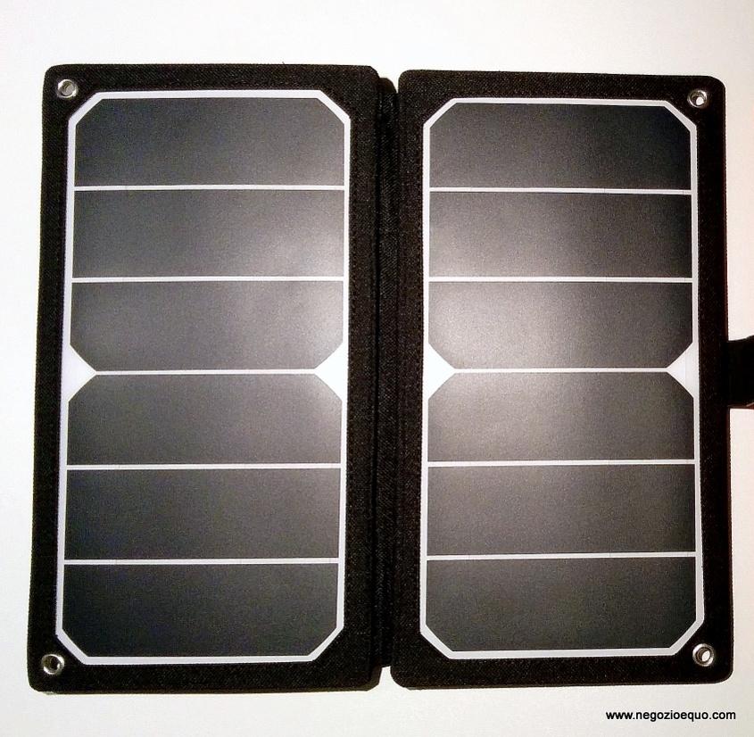 Pannello Solare Portatile Usato : Pannello solare tempo libero wp
